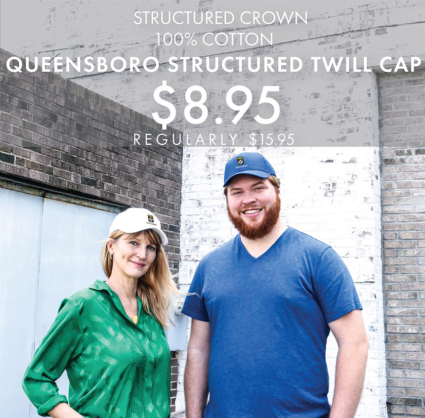 Custom Embroidered Queensboro Structured Twill Caps