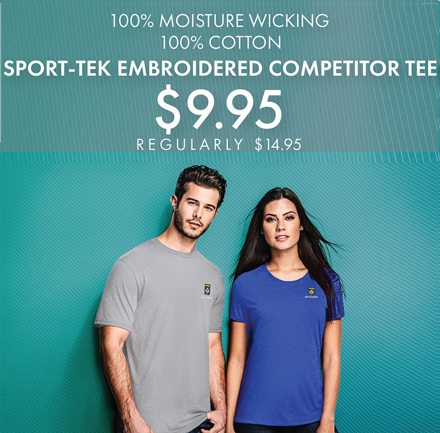 Custom Embroidered Sport-Tek Competitor Tees