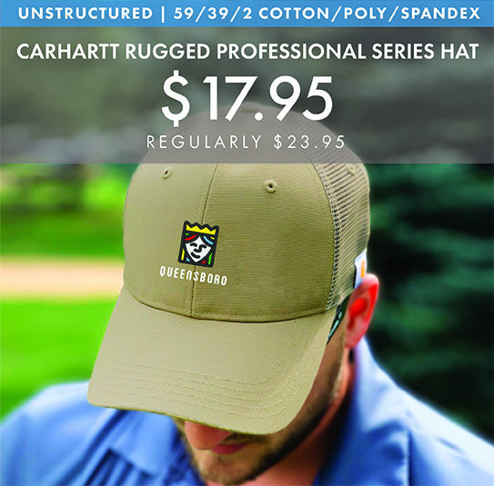 Custom Embroidered Carhartt Rugged Professional Series Hats!