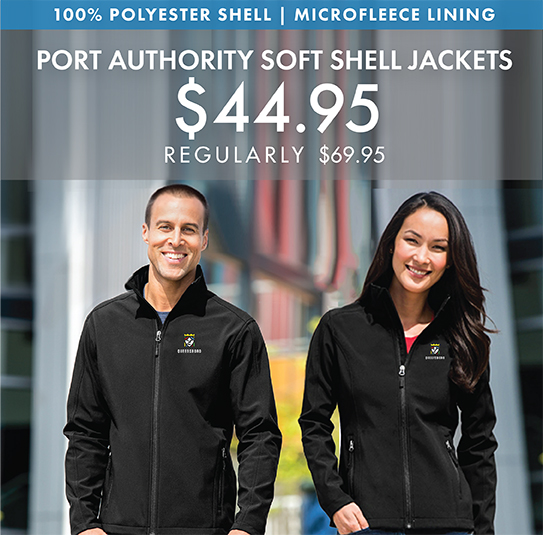 Custom Embroidered Port Authority Core Soft Shell Jackets