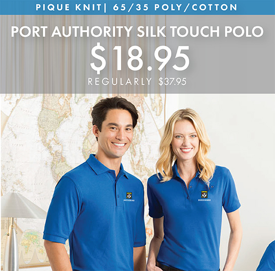Custom Embroidered Port Authority Silk Touch Polos