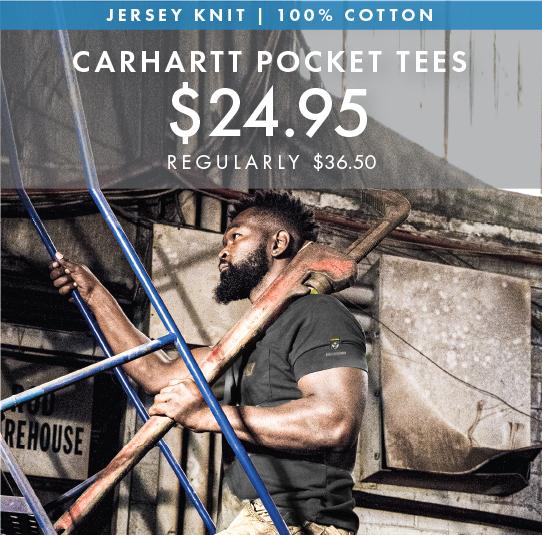 Custom Embroidered Carhartt Pocket Tees!