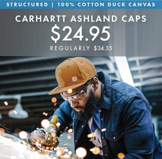 Custom Embroidered Carhartt Ashland Caps!