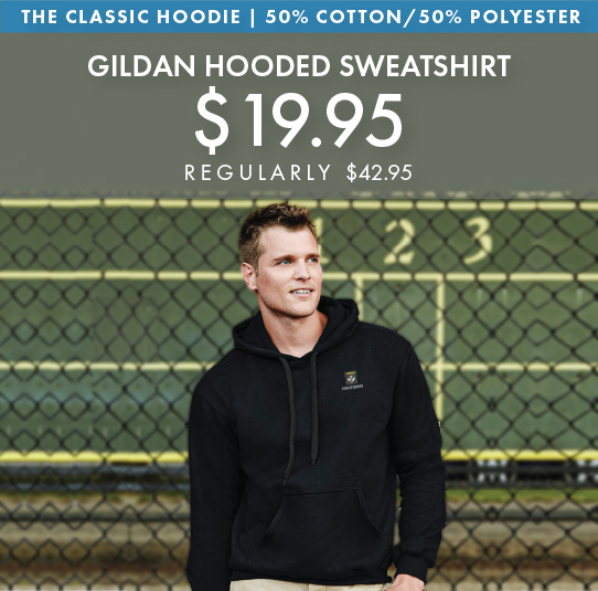 Custom Embroidered Gildan Heavy Blend Hooded Sweatshirts