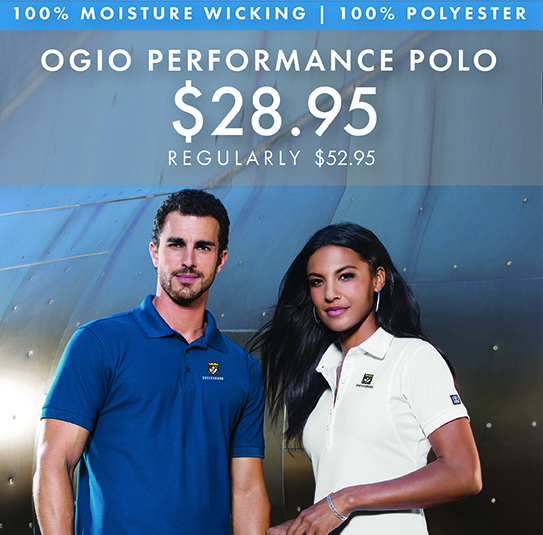 Custom Embroidered OGIO High Performance Polos